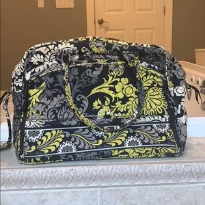 Slightly used Vera Bradley computer briefcase bag